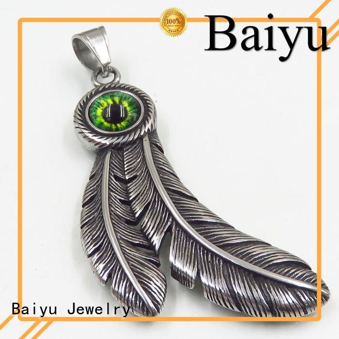 Wholesale pendants stainless steel pendants wholesale Baiyu Jewelry Brand