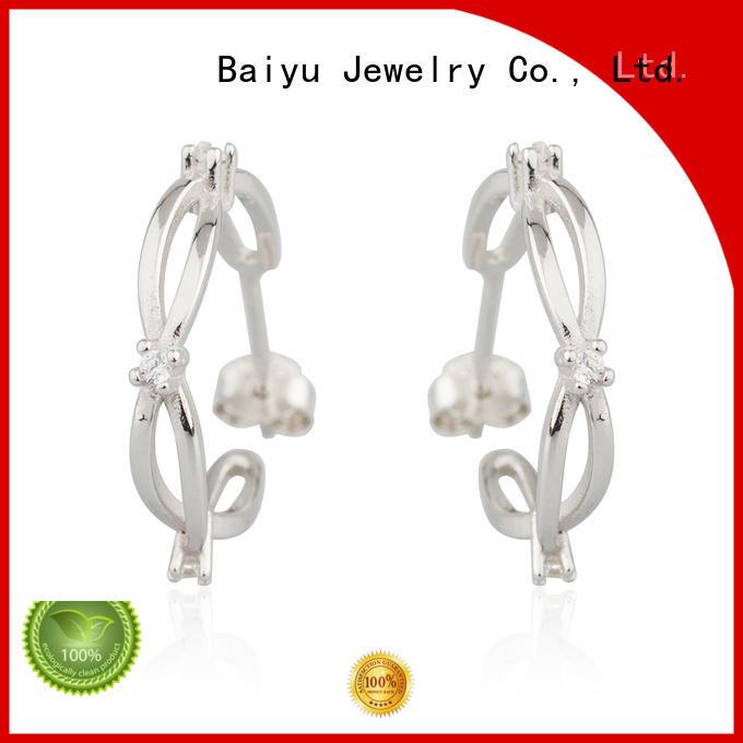 925 silver earrings bulk production for girlfriend