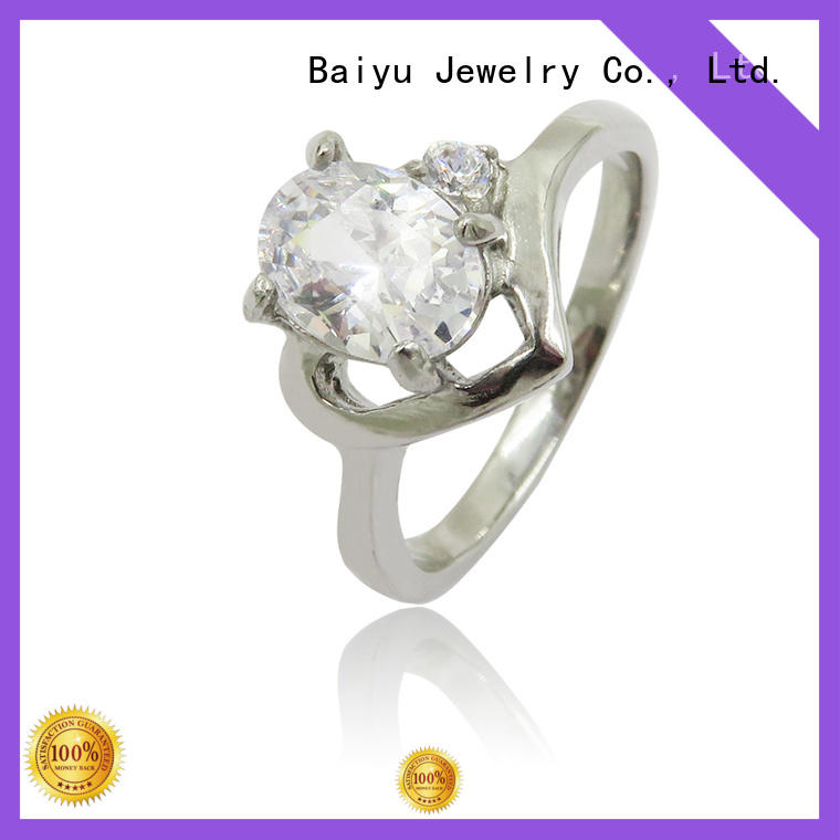 shaped women's stainless steel jewelry new design with diamond