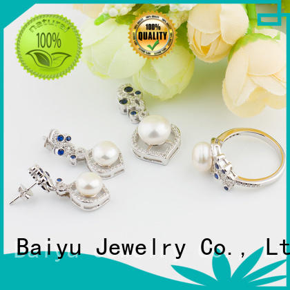 fashion sterling silver jewelry sets high-quality for girls