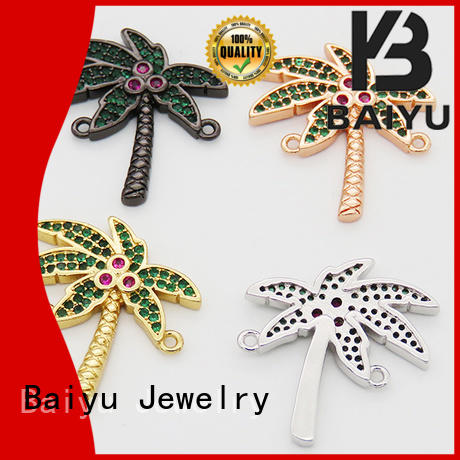 Baiyu Jewelry metal connector jewelry company for lady