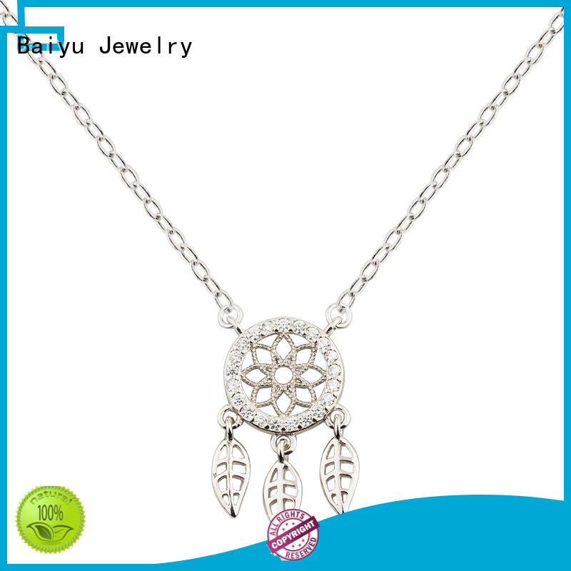 Dreaming Series Wholesale Chain Necklace 925 Sterling Silver Jusnova Silver AN40201