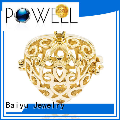 necklace stainless ss stainless steel pendant Baiyu Jewelry Brand company